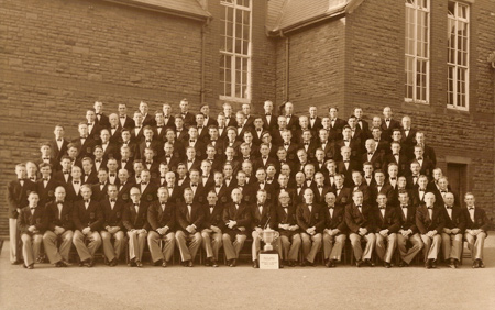 Treorchy & District Male Choir, 1952