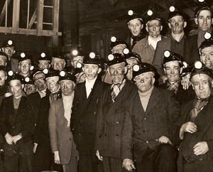 Treorchy & District Male Choir at Gelli Colliery