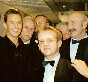 Choristers with Russell Watson, 2001