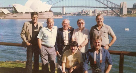Ken, Reg, Roy, Bryn, Peter, Arwel and Phil