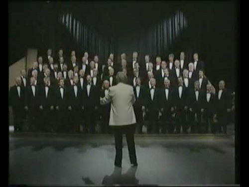 "The Choir singing ""Rhys"" on ""Canwn Molliannwn"", 1990"