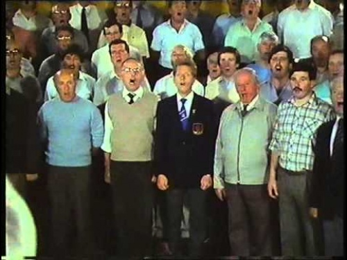 """Corau Mawr"" television show on the Treorchy Choir, 1986. Part 2"