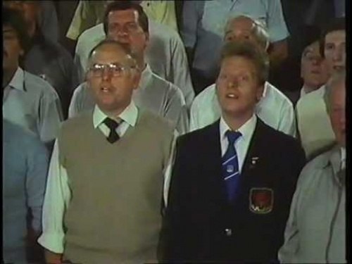 """Corau Mawr"" television show on the Treorchy Choir, 1986. Part 4"